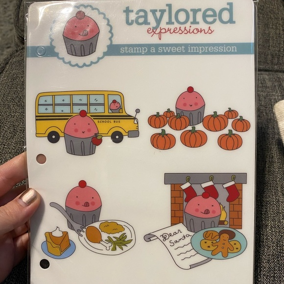 Taylored Expressions Other - Taylored Expressions Fall Stamp Set